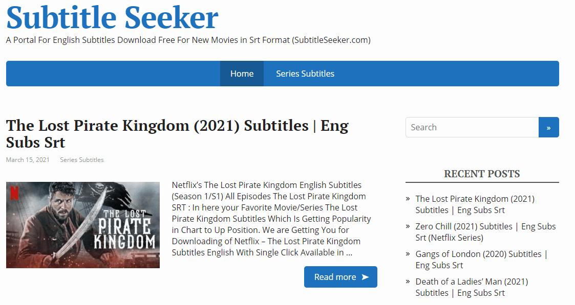 Subtitle-seeker