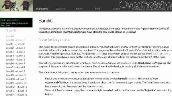 Bandit hacking simulators