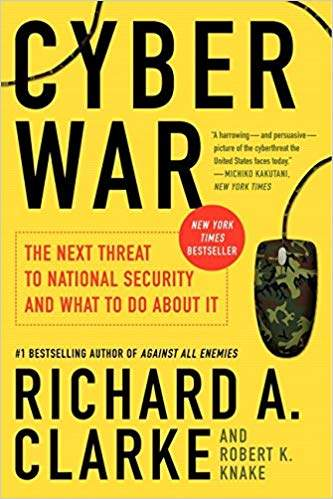 Cyber War cybersecurity books