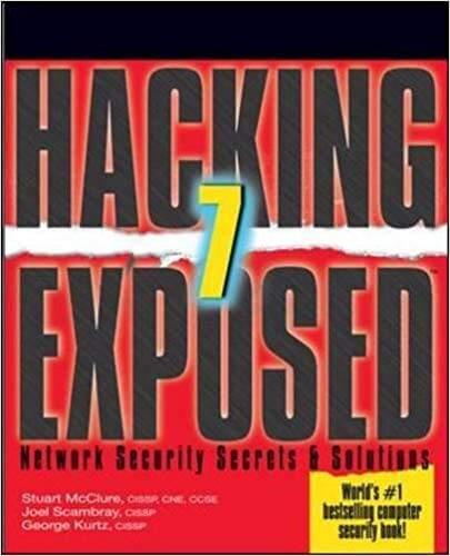 Hacking Exposed 7 cybersecurity-books
