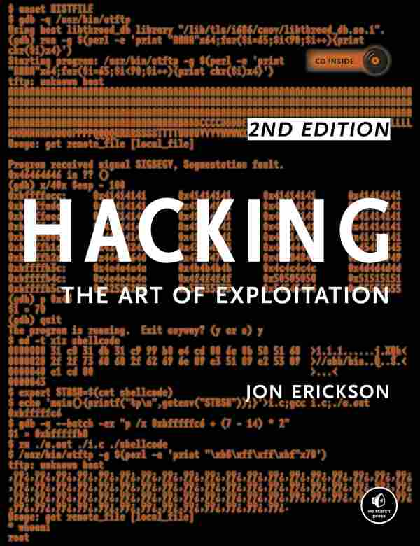 Hacking-The Art of Exploitation hacking books