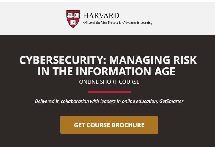 Harvard-cybersecurity-course