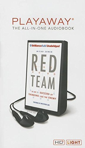 Red Team hacking books